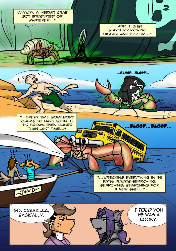 The origin story of Cangrejo Diablo!